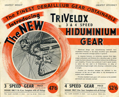 Smart & Brown flyer for its Hiduminium Gear